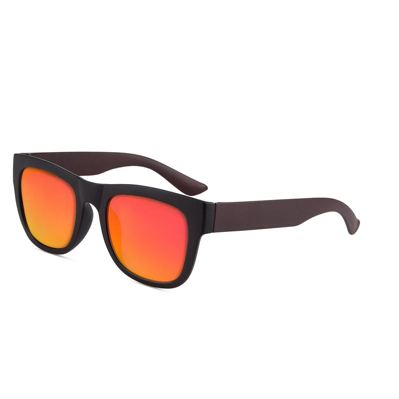 Makai Shinny Black / Red Sunglasses