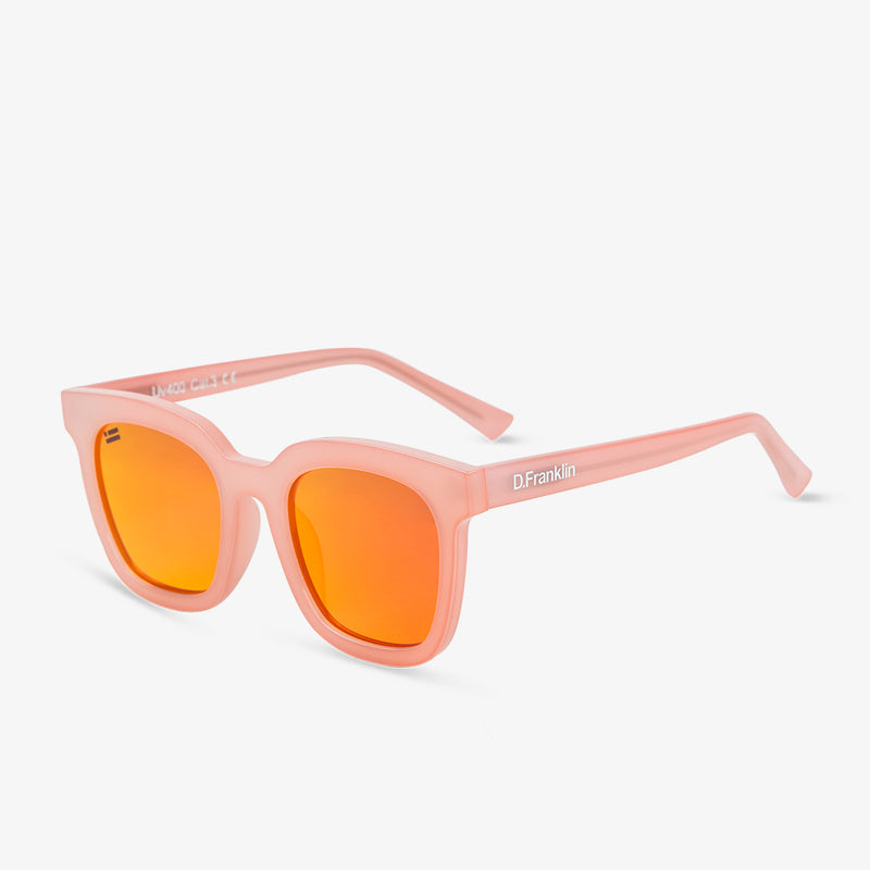 993 Milky Pink/Red Sunglasses