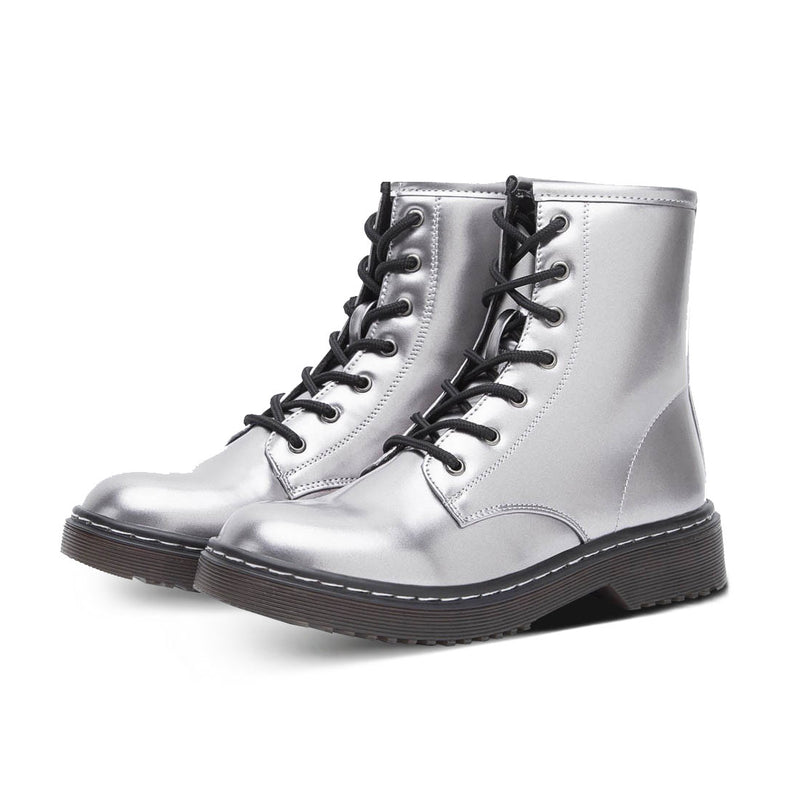 Boots Moss Silver