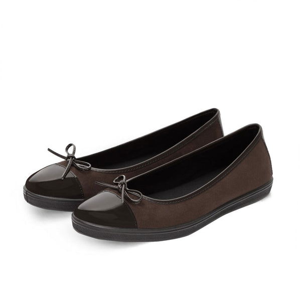 Ballerinas Mina Dark Brown