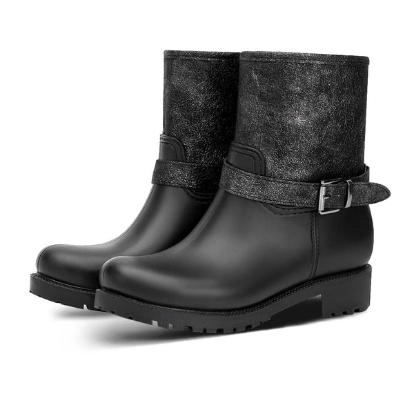 Booties Rain Herty Black