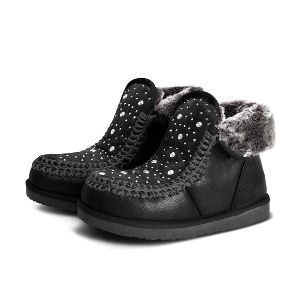 Booties Nanuk Stones Black
