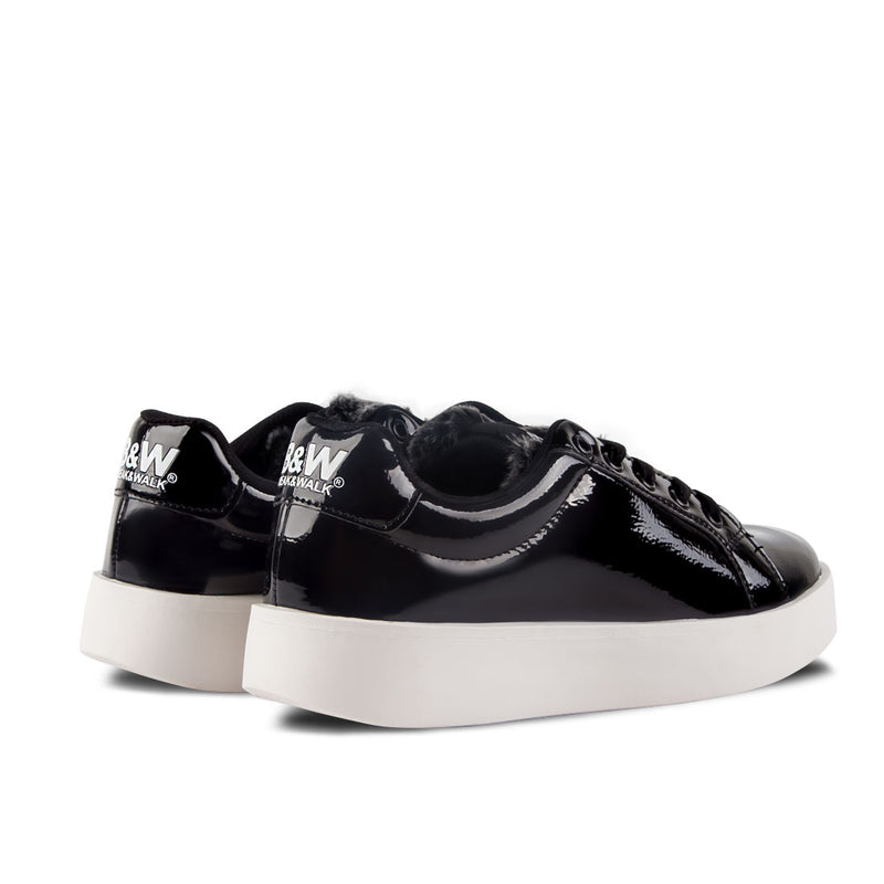 Sneakers Damsel Patent Leather Black