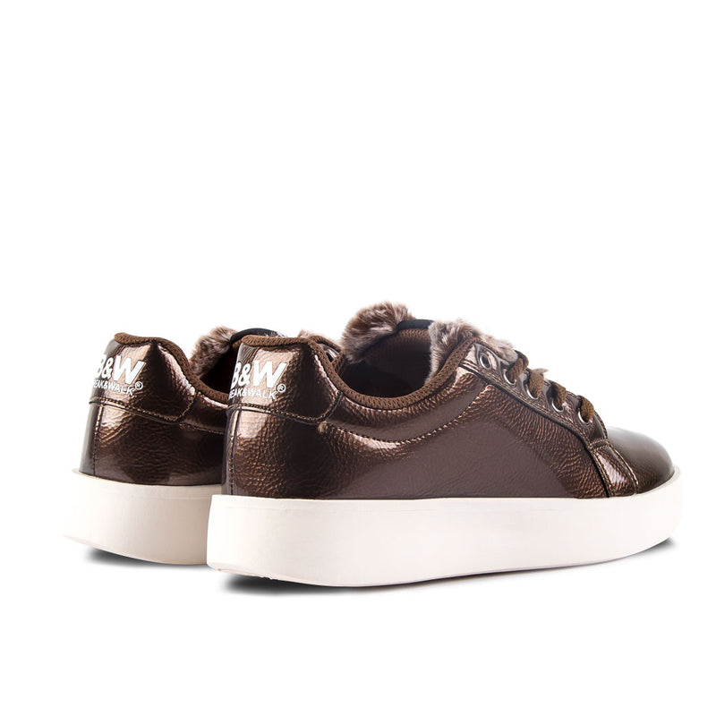 Sneakers Damsel Patent Leather Bronze