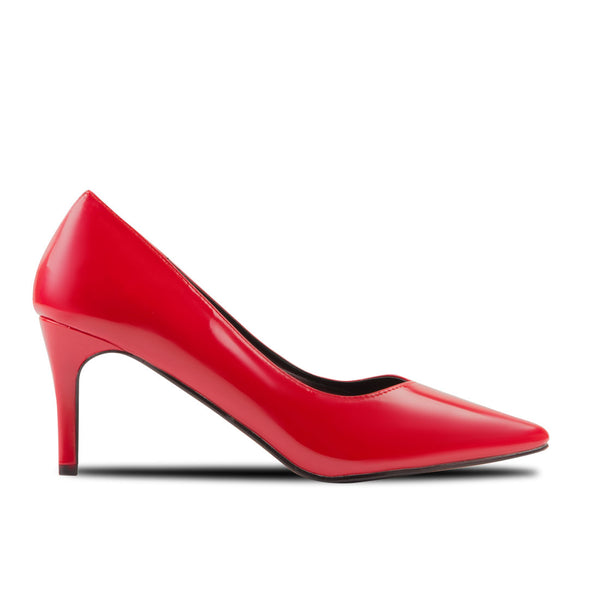 Heel Shoes Lina Patent Leather Red