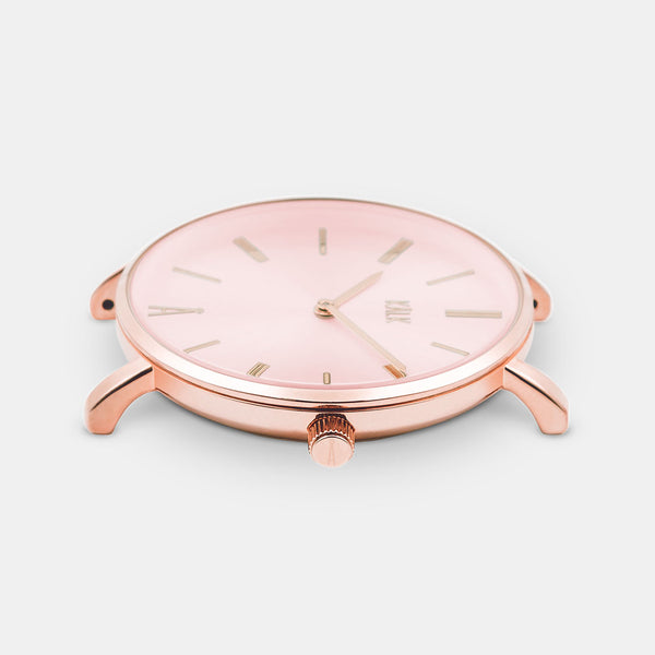 Classy Rose Gold / Light Pink Watch