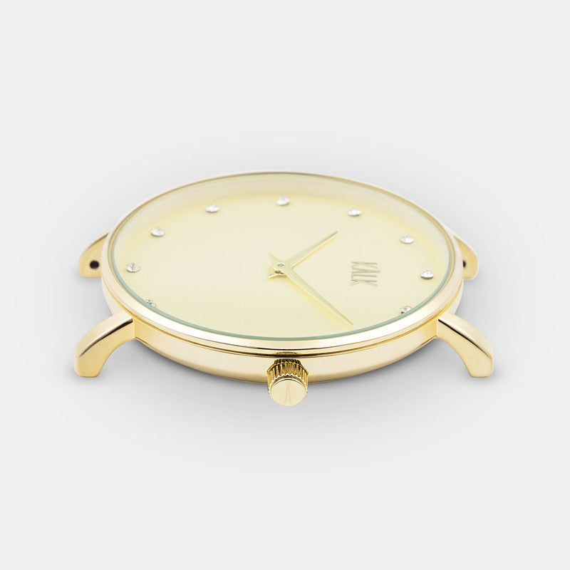 Dreamy Full Gold Watch