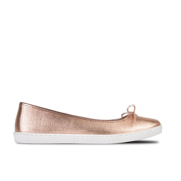 Ballerinas Carrie Metal Salmon