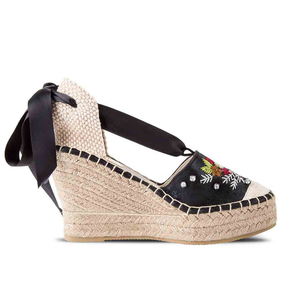 Wedge Shoe Elba Black