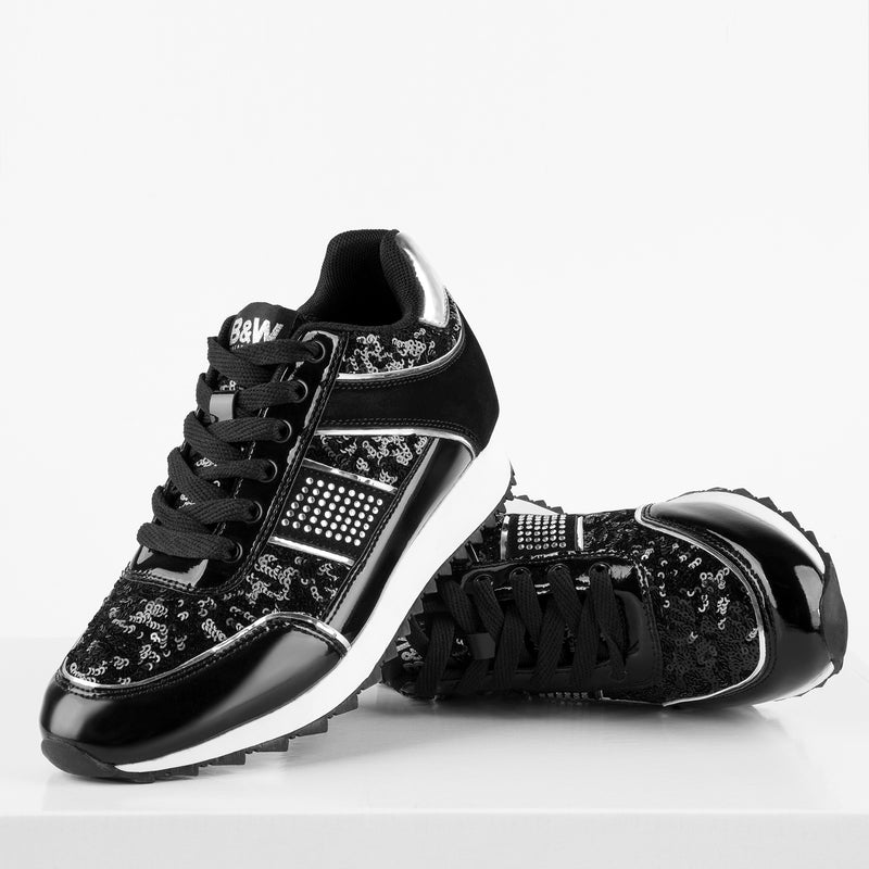 Sneakers Rockslide Sequins Black