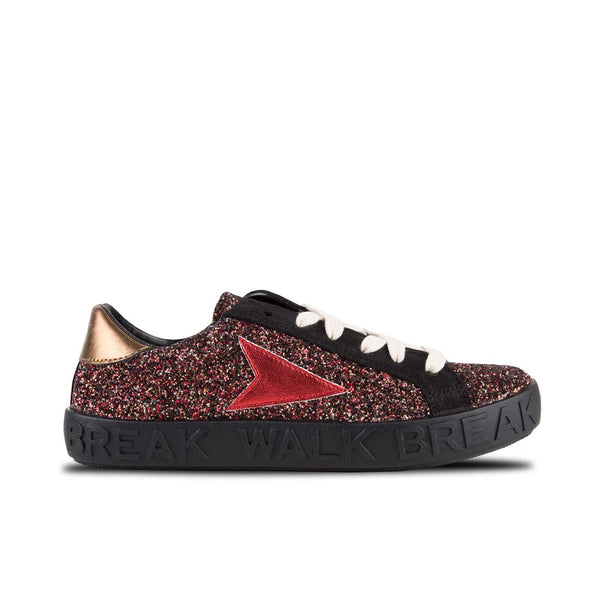 Sneakers Ruby Glitter Red
