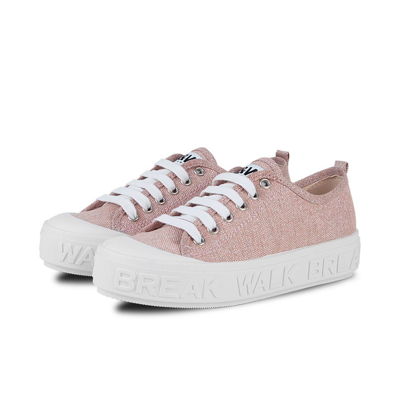 Sneakers Wicker Metal Rosa