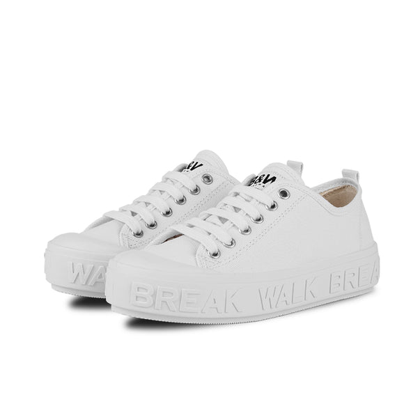 Sneakers Wicker White