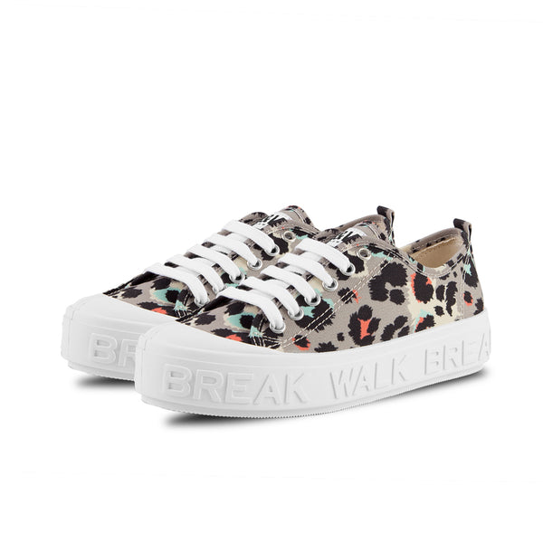 Sneakers Wicker Leopard