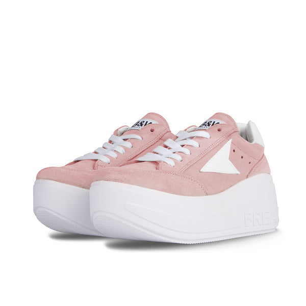 Sneakers Wicker Platform Pink Pale