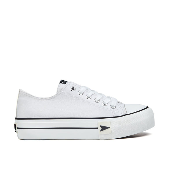 Sneakers Bay Platform White Nappa