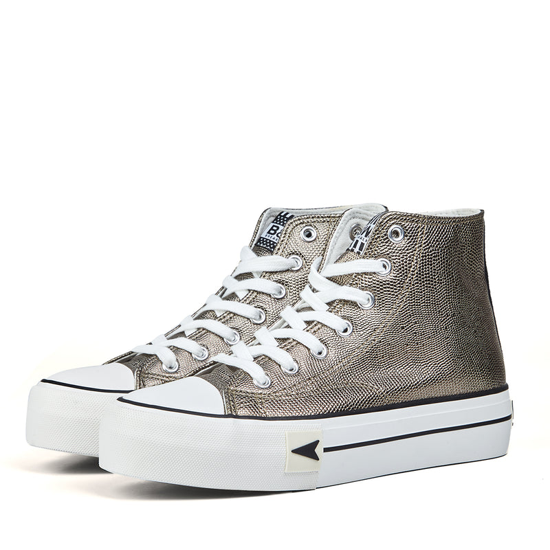 Sneakers Bay High Top Platform Snake