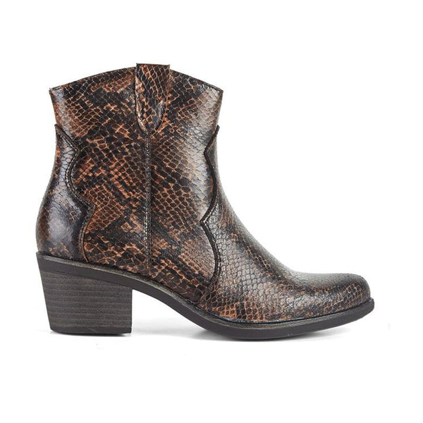 Ankle Boots Cowboy West Snake