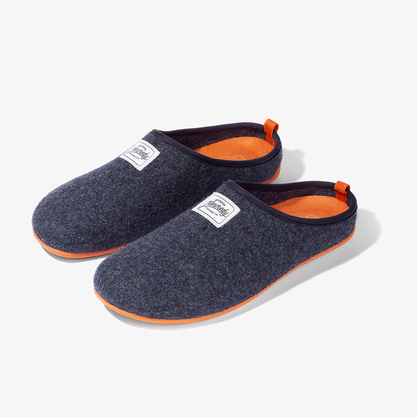 Mercredy Slipper Navy / Orange