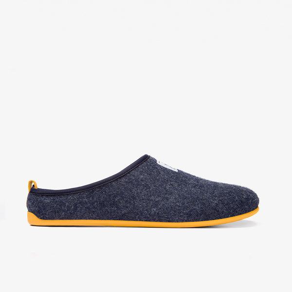 Navy / Yellow Home Slippers