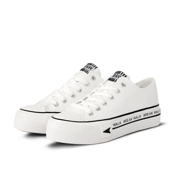 Sneakers Bay Platform White