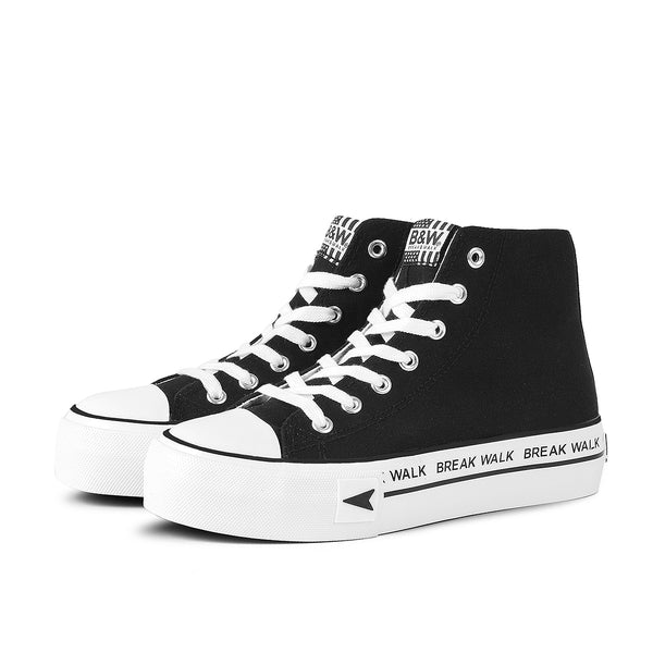 Sneakers Bay High Top Platform Black