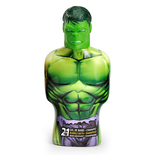 2-in-1 Gel et shampooing Avengers Hulk Cartoon (475 ml)