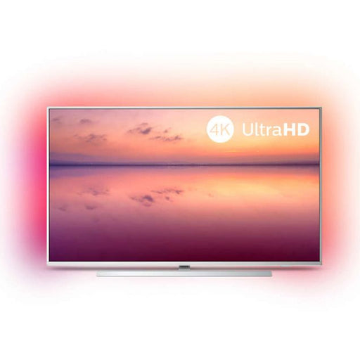 "TV intelligente Philips 55PUS6804 55"" 4K Ultra HD LED WiFi Argenté"