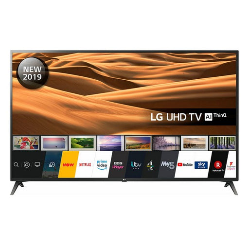 "TV intelligente LG 60UM7100 60"" 4K Ultra HD LED WiFi Noir"