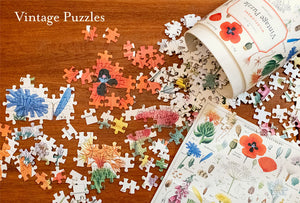 Vintage Style Puzzle - Minerology