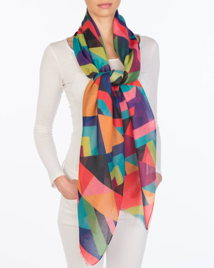 Color Color Scarf