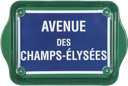 Champs-Elysees Petite Metal Tray