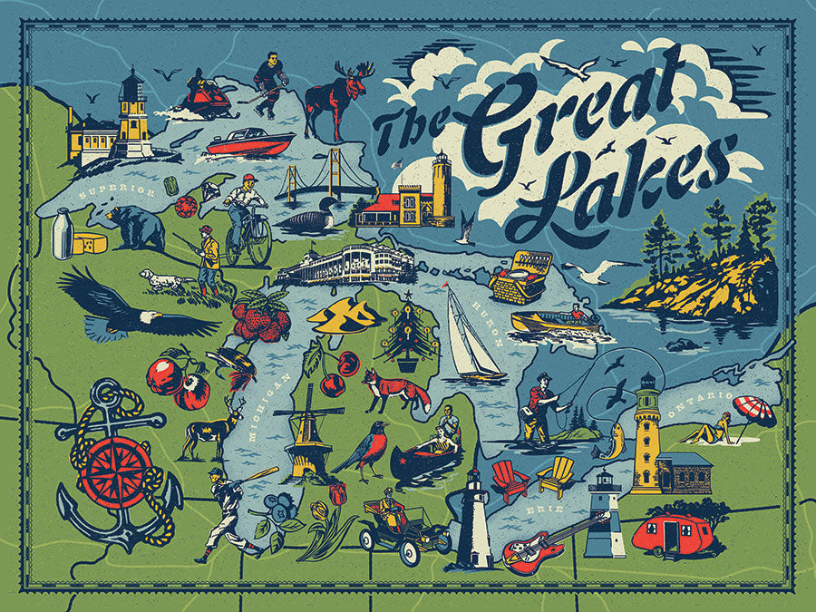 The Great Lakes Puzzle