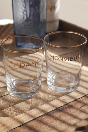 Madame + Monsieur Tumbler Set/2