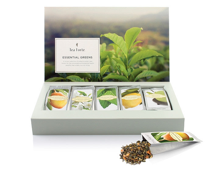 Single Steeps Tea Collection-Essential Green