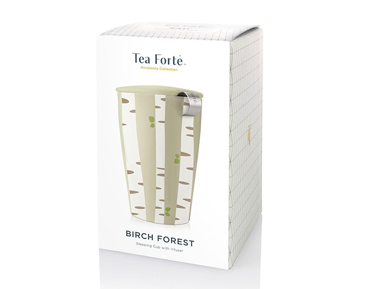 Tea Forté Kati Steeping Cup- Birch Pattern