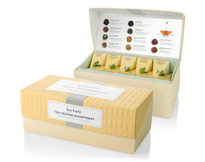 Tea Forte Presentation Box Sampler- 20 Handcrafted Pyramid Tea Infusers