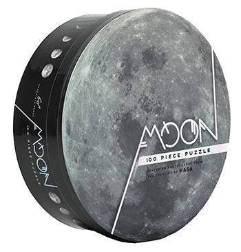 Moon: 100 Piece Puzzle Featuring photography from the archives of NASA
