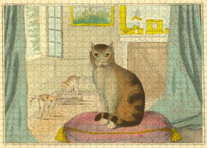 NEW! John Derian Paper Goods: Calm Cat Puzzle