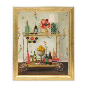 "Janet Hill Framed Print ""Barmaids"""