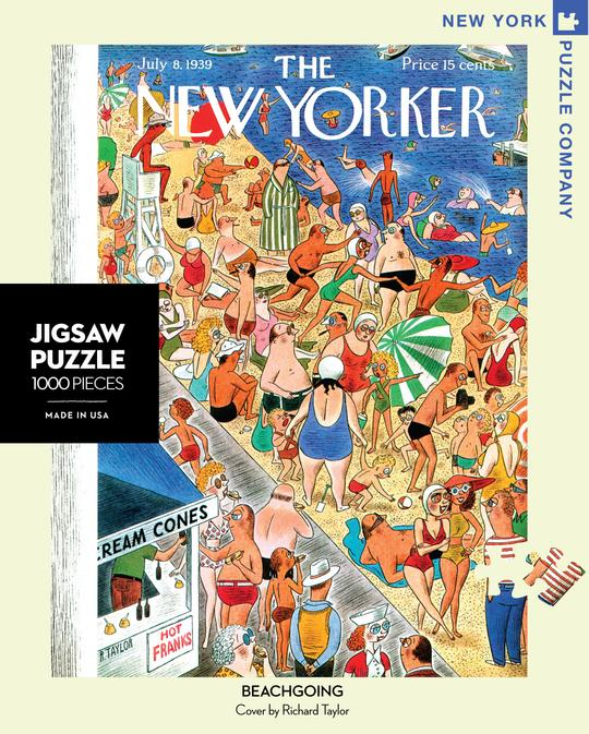 NEW! New Yorker Puzzle- Beachgoing