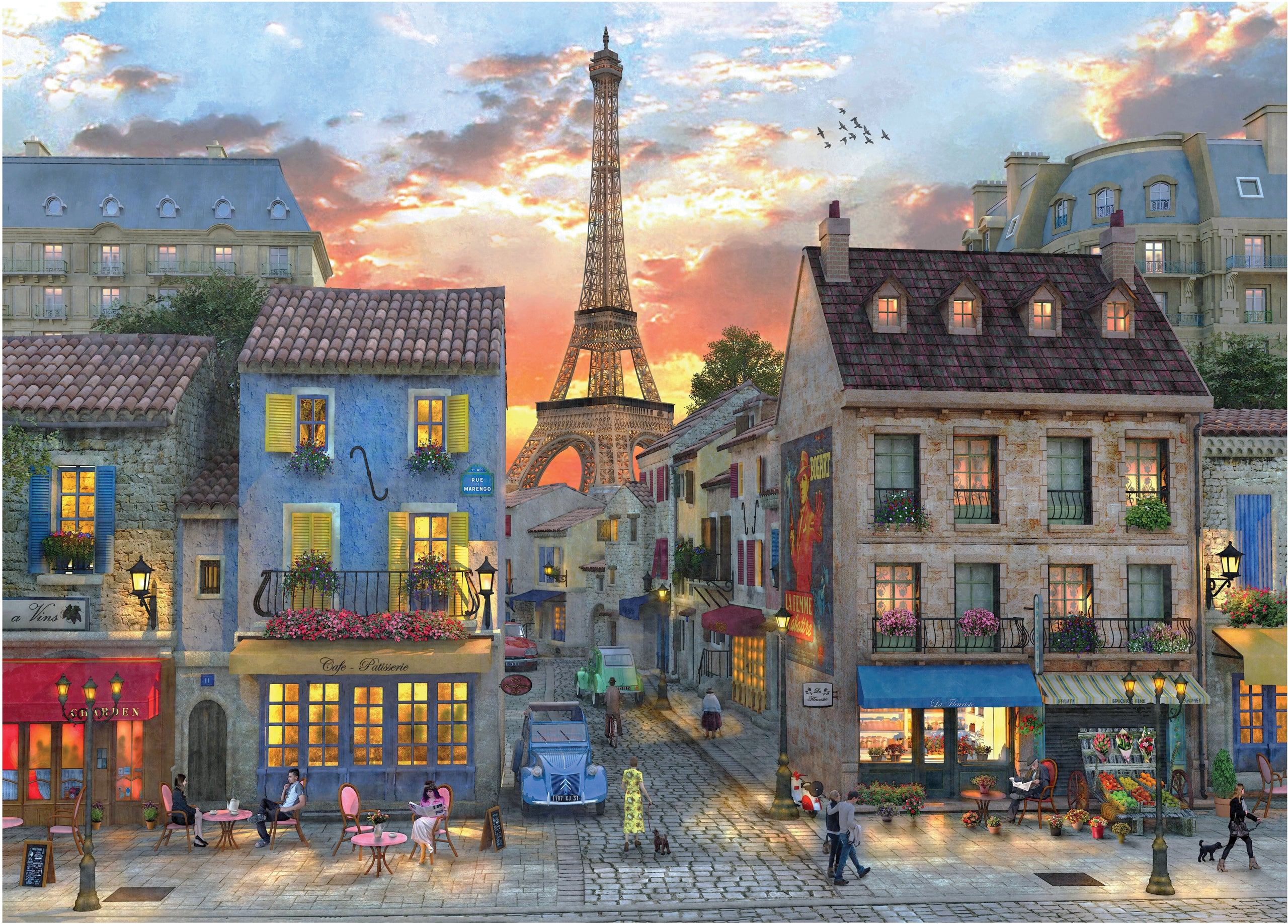 Evening in Paris Puzzle