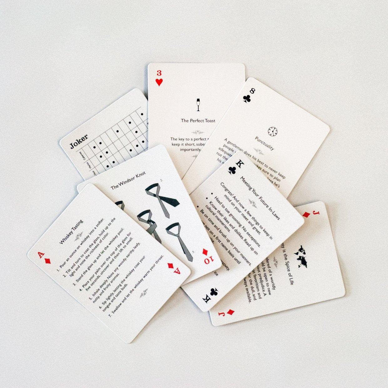 The Gentleman's Deck Playing Cards