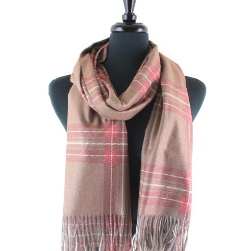 Glynnis Scottish Plaid Scarf- Assorted Colors