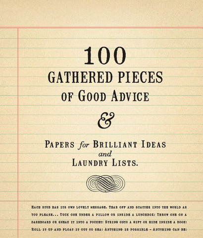 100 Gathered Pieces of Good Advice Tablet