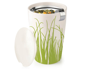Tea Forté Kati Steeping Cup- Spring Grass Pattern