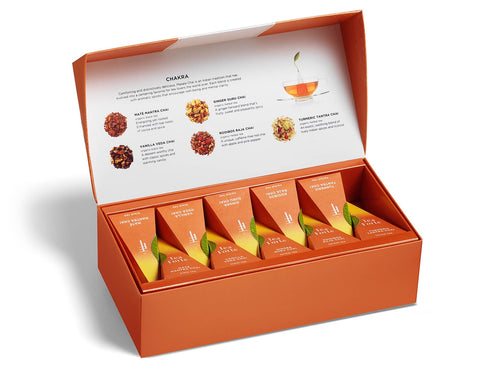 Tea Forte Petite Presentation Box Sampler- Chakra