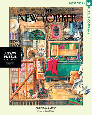 New Yorker Puzzle- Christmas Attic