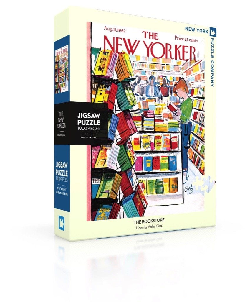 New Yorker Puzzle-The Bookstore
