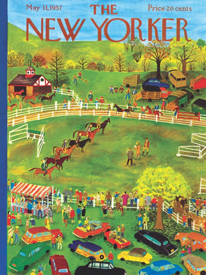 Kinder Puzzel Magazine.New New Yorker Puzzle Horse Show Clever Girl